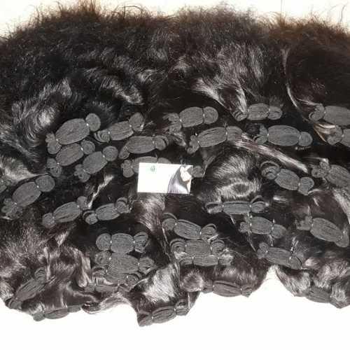 Weft bundle hair
