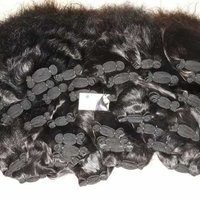 Weft bundle hair