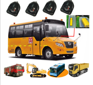 Factory Price 3D 360 Car Camera Around View Parking System for School Bus