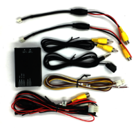 Universal 2 Ways Division Monitor Driving Safety System for Car