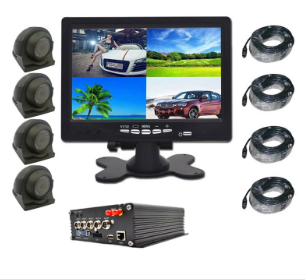 Factory Supply Vehicle HD Camera DVR Monitor with WIFI GPS System