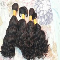 100%  Human Hair Extension type Double Drawn Weft And Bulk With