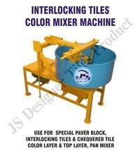 Interlocking Tile Color Mixer Machine
