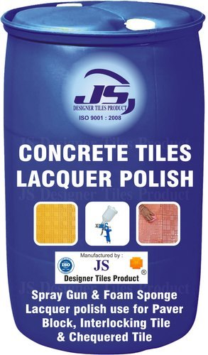 Concrete Tile Lacquer Polish