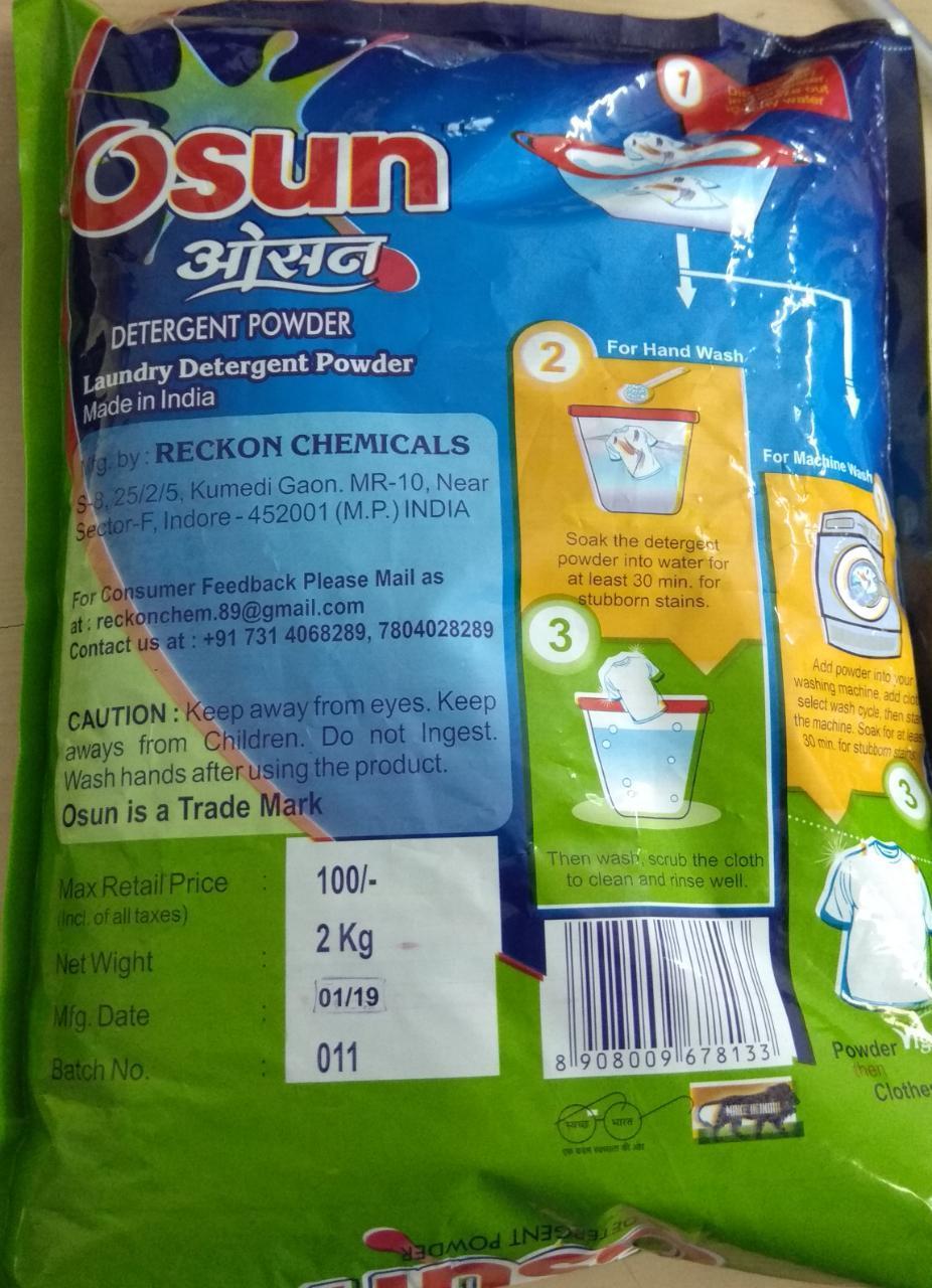 Osun Detergent Powder