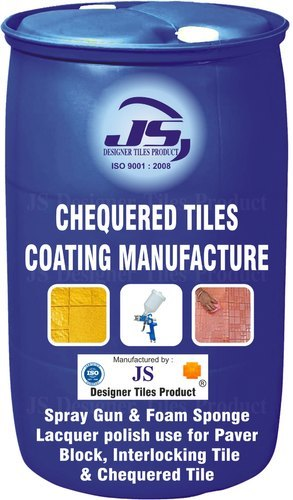 Chequered Tile Coating