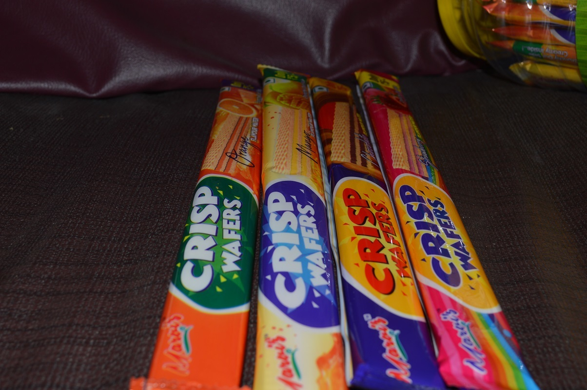 Crisp Orange Flavour Wafers