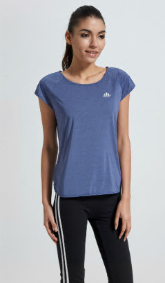 Raglan sleeve loose fit short sleeve lightweight breathable running t-shirt gym tshirt
