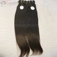 Raw Indian Virgin Human Hair Natural Color Straight Wavy Hair Virgin Human Hair
