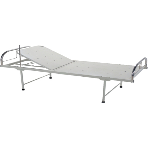 Hospital Warden Bed with Back Rest