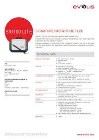 SIG100 LITE: Economic Signature Pad