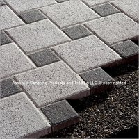 Shot Blasted Interlocking Tiles