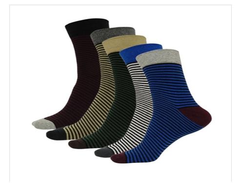 Mens Casual Lining Cotton Socks