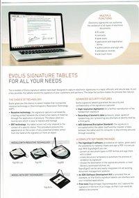 SIG Activ: High-tech Signature Pad