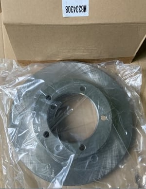 front rotor disc