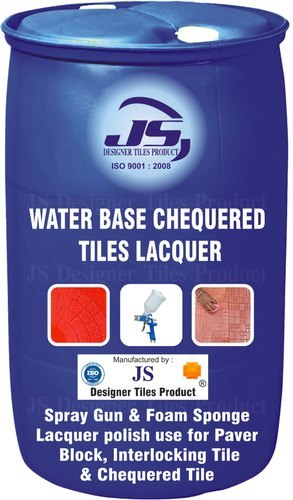 Water Base Chequered Tile Lacquer