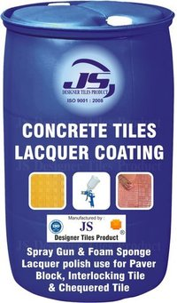 Concrete Tile Lacquer Coating