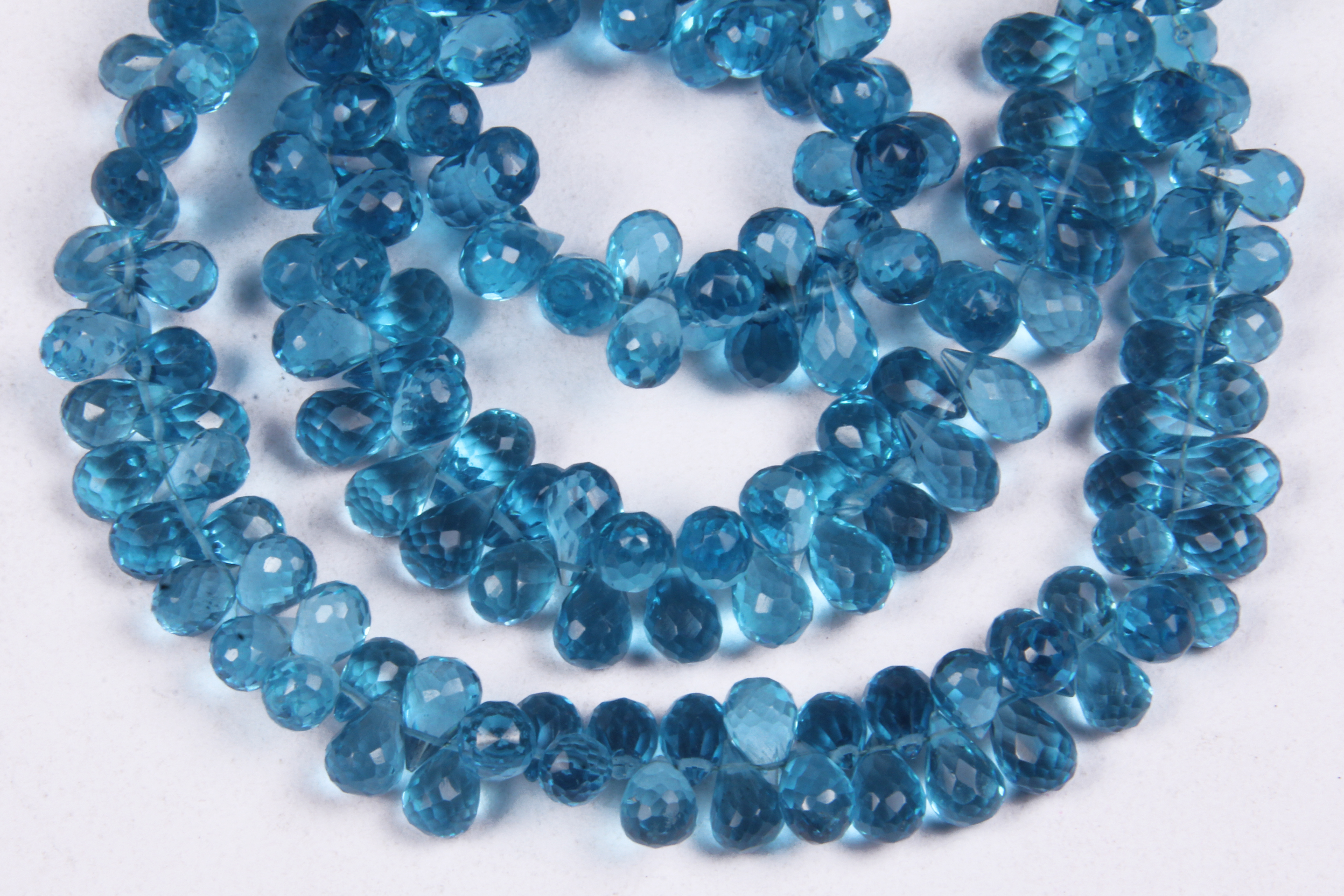 Blue Hydro Drops Beads
