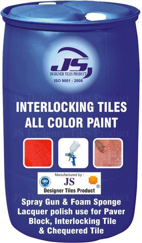 Interlocking tile All Color Paint