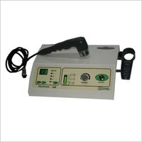 Physiotherapy ultrasound machine