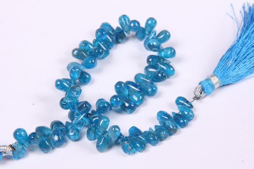 Apatite Smooth Drop Beads