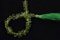 Peridot Faceted Drop Beads
