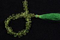 Peridot Faceted Drop Beads