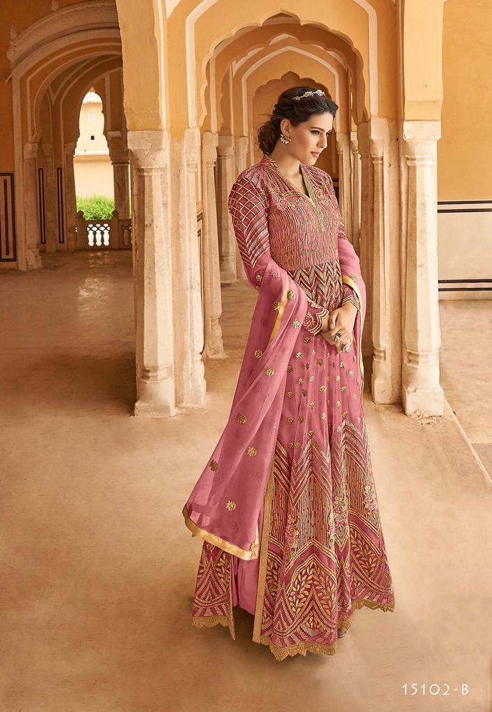 Designer net salwar suits