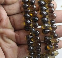 Whisky Quartz Beads
