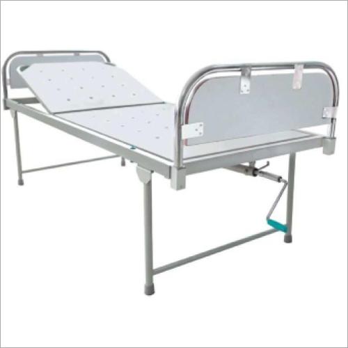 SS Panel Semi Fowler Bed
