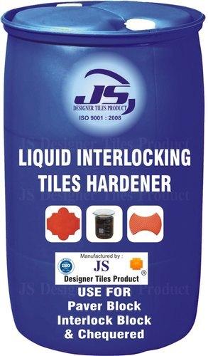 Liquid Interlocking Tile Hardener