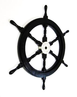 Pirate Ship Wheel Aluminum Hub 30 Inch
