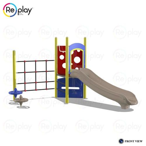 HDPE Design Playground Slide