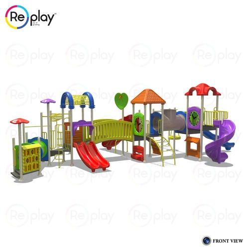 Freestanding Multi Play Equipment