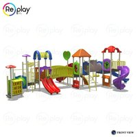 Freestanding Multi Play Equipment