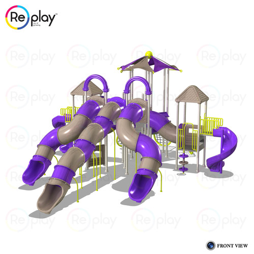 Outdoor Adventure Multi Activity Play System Equipment