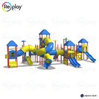 Multi Challenging Activity Play Equipment