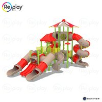 Outdoor Multi Challenging Activity Play Equipment