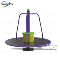 Outdoor Stand Merry Go Round Climber Equipment