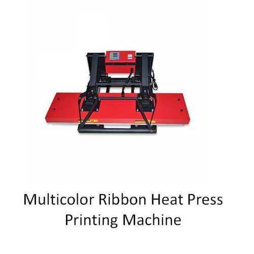 Multicolor Ribbon Printing Heat Press Machine