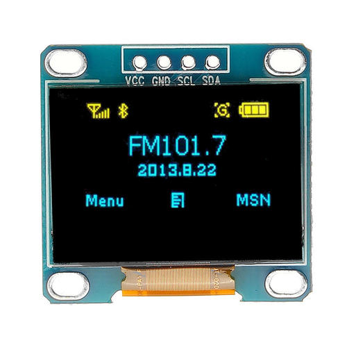 OLED 4pin 128x64 Display Module 0.96
