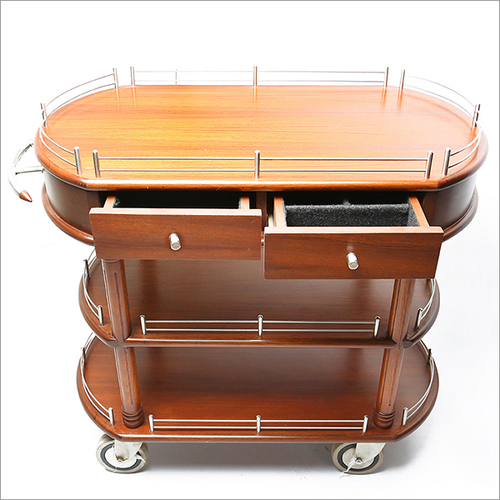 Banquet Wooden Trolley