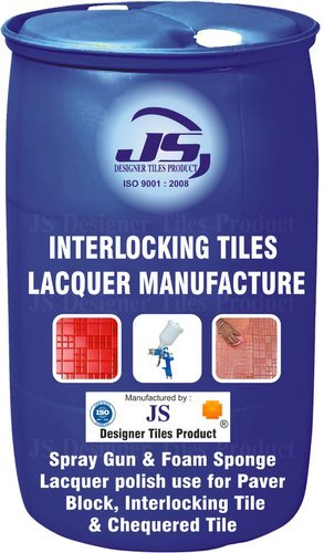 Interlocking Tile Lacquer