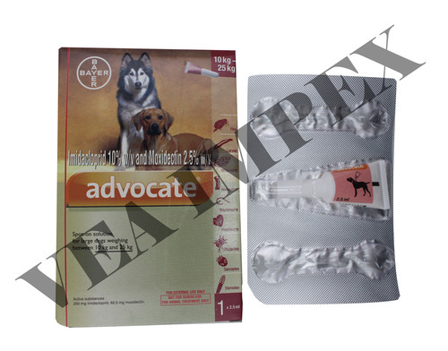 ADVOCATE 2.5ML FOR DOG- IMIDACLOPRIDE 400MG+MOXIDECTIN