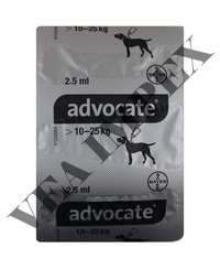 ADVOCATE 2.5ML FOR DOG