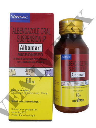 Albomar 60 Ml-ALBENDAZOLE 25MG