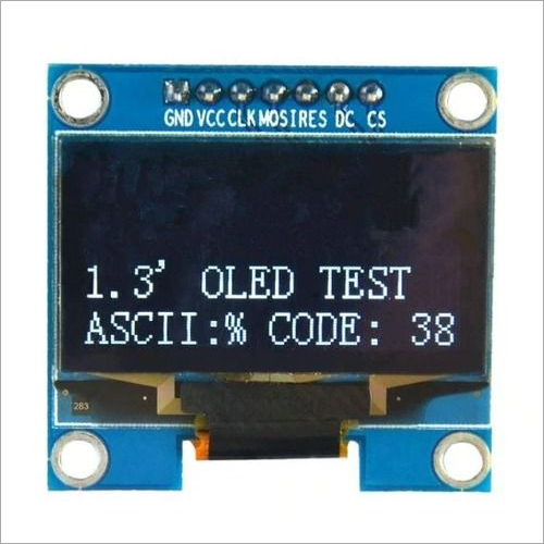 1.3 7pin OLED SPI/IIC Blue-White