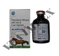 Alviplus 50 Ml Liver Injection-VITAMIN B12+FERRIC AMMONIUM CI