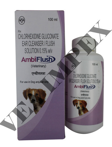Ambiflush Ear Cleanser Solution For Dog And Cat