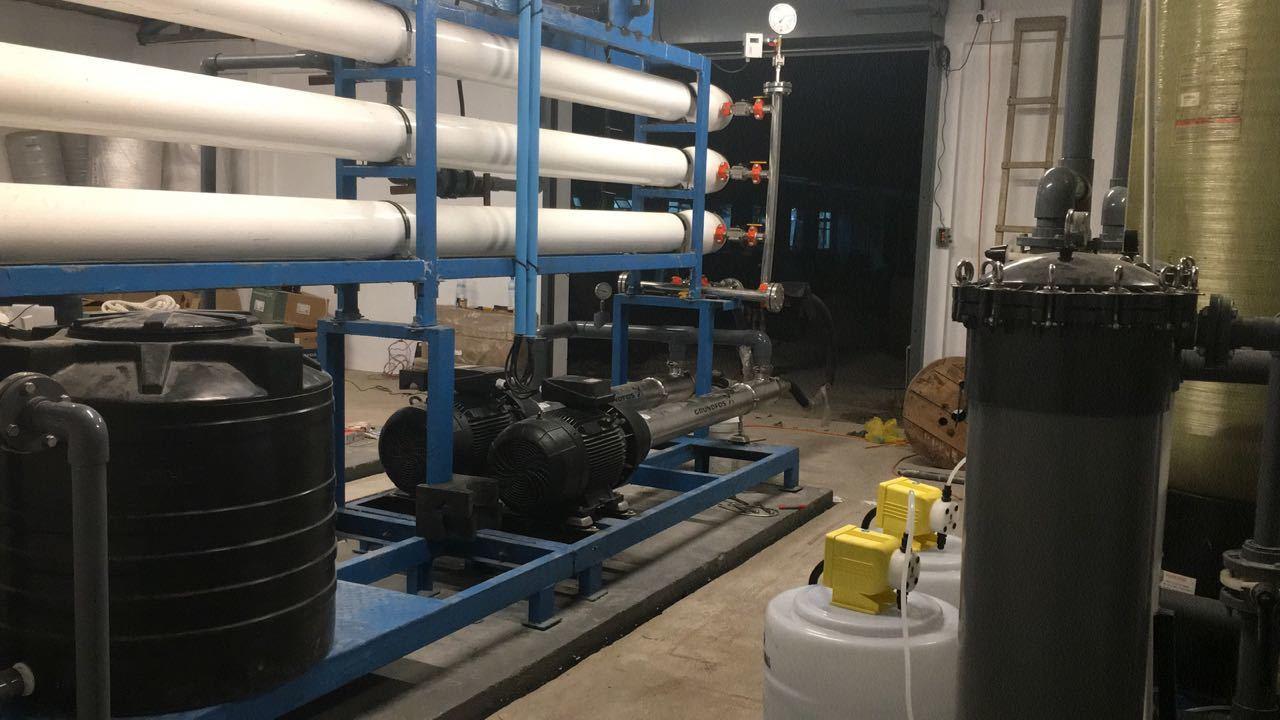 Seawater Reverse Osmosis Plant